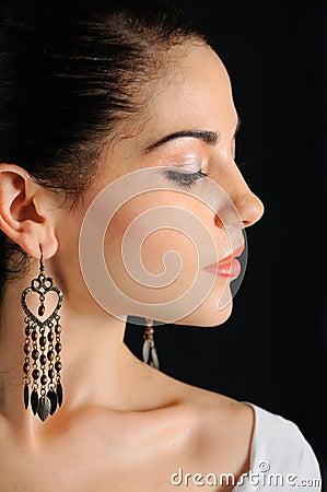 Free Woman Profile Royalty Free Stock Image - 6415976