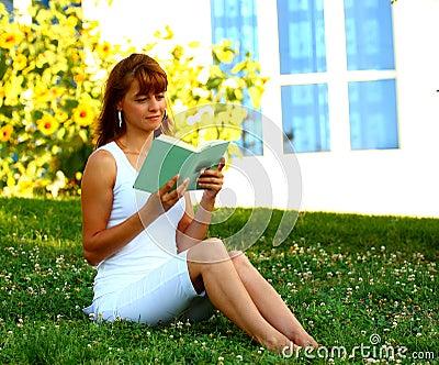 Woman read