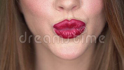 Lipstick And Kissing