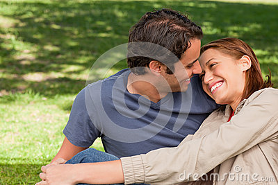 Woman Rests Her Head On Her Friend's Shoulder Royalty Free Stock Photography - Image: 25332147