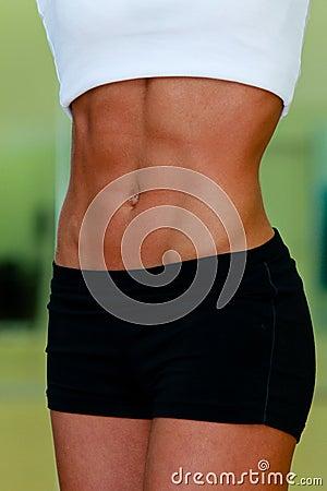 Woman s abdomen