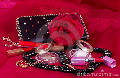 woman s accessory and cosmetic