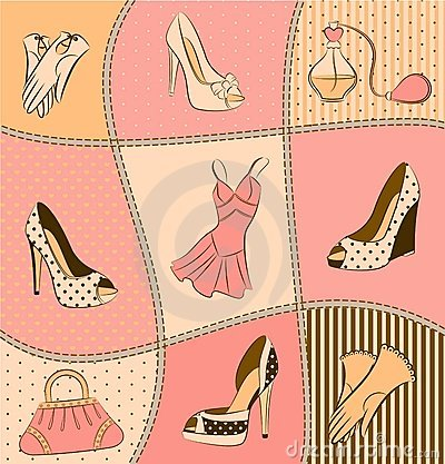 Free Woman S Bag, Perfume And Shoes Stock Photo - 21175900