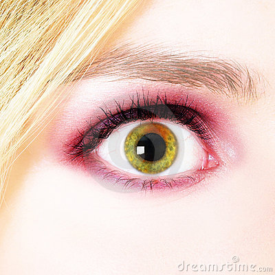 Free Woman S Eye Stock Image - 1014121