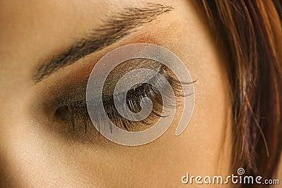 Woman s eye.