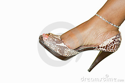 Woman s fancy dress shoe