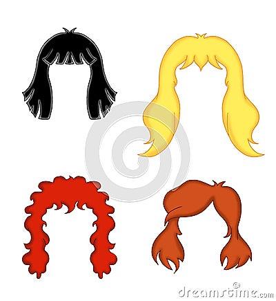 Woman s hair