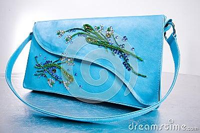 Woman s leather handbag. Hand made