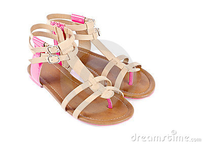 Woman's Leather Sandals