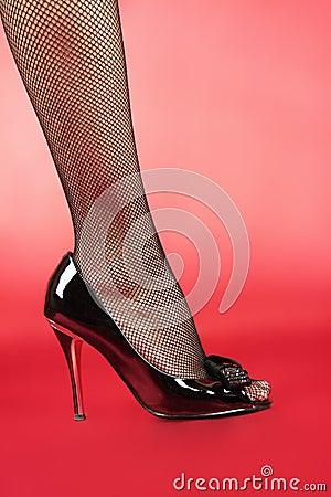 Woman s leg