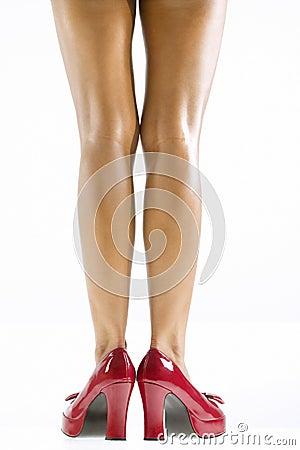 Free Woman S Legs. Stock Photos - 2423263