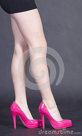 Woman s Legs in Heels