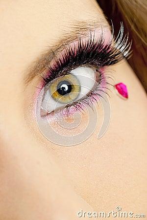 Woman s makeup