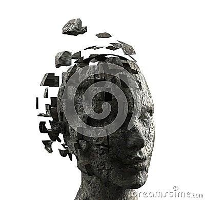 Free Woman S Mind Stock Image - 3608101