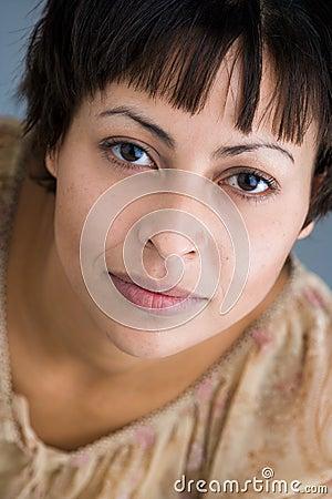 Woman s portrait
