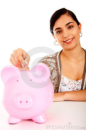 Woman s savings