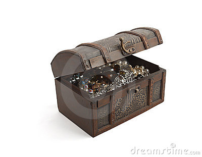 Woman s treasure chest