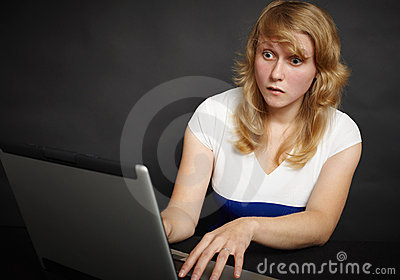Woman scares content of Internet sites