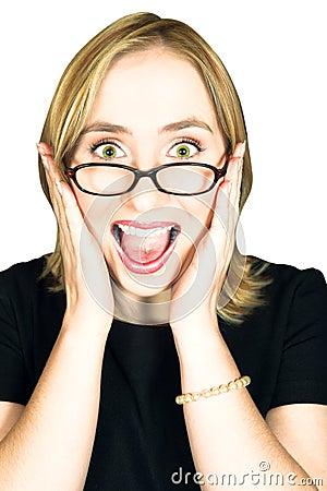 Free Woman Screaming Royalty Free Stock Image - 3017606