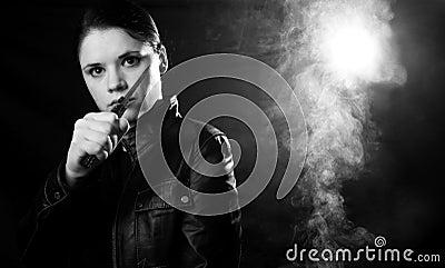Woman self defense