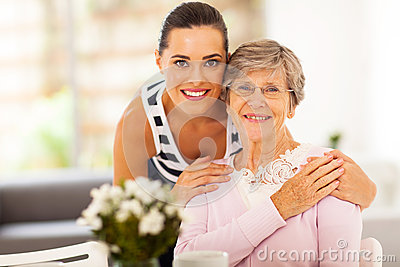 Woman senior mother