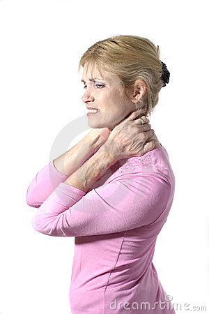 Woman With Severe Neck Pain 8