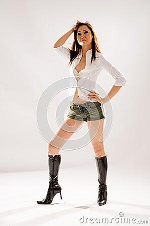 Woman sexy pose