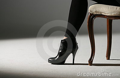 Woman Shoes Royalty Free Stock Image - Image: 7149076
