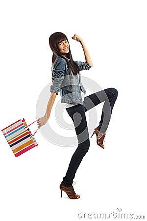 Free Woman Shopping Royalty Free Stock Photo - 11633965