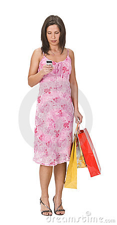 Free Woman Shopping Royalty Free Stock Image - 4516276