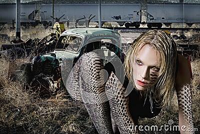 Woman Snake