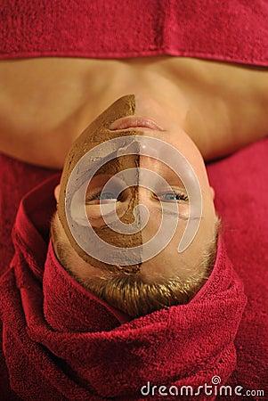 Woman at spa salon