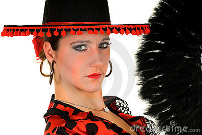 Woman Spanish dancer
