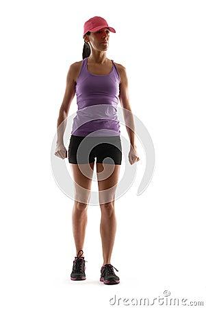 Woman sport.