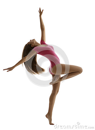 Free Woman Sport Dancing, Girl Fitness Dancer, Young Gymnast Royalty Free Stock Photo - 85827605