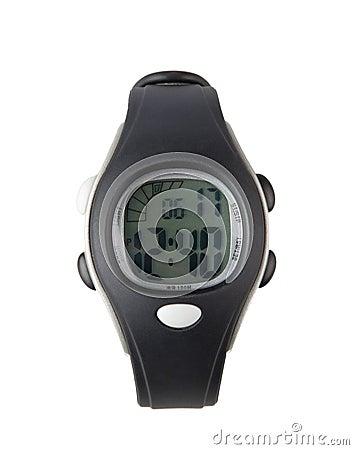 Woman sport wristwatch
