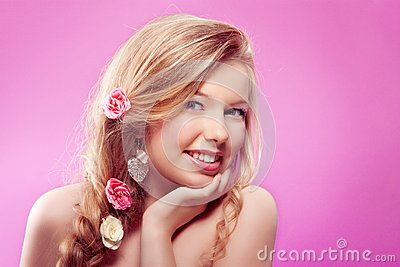 Woman spring