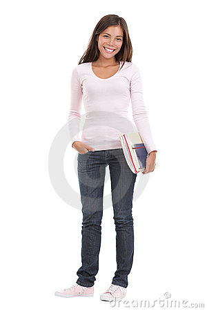 Woman Student Royalty Free Stock Photo - Image: 12331985