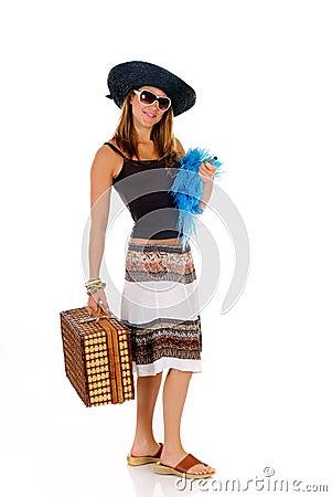 Woman summer clothing