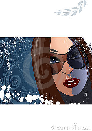 Woman with sunglasses 2