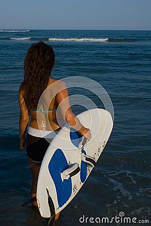 Woman Surfer