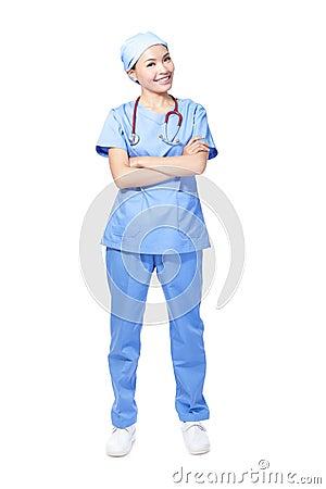 Free Woman Surgeon Doctor Stock Photo - 27754950