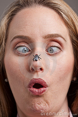 [Image: woman-surprised-fly-her-nose-10630983.jpg]