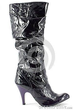 Woman tall elegance boot