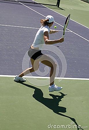 Woman tennis