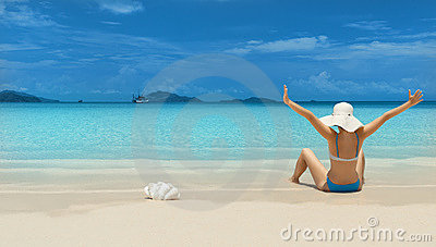 Woman on thebeach