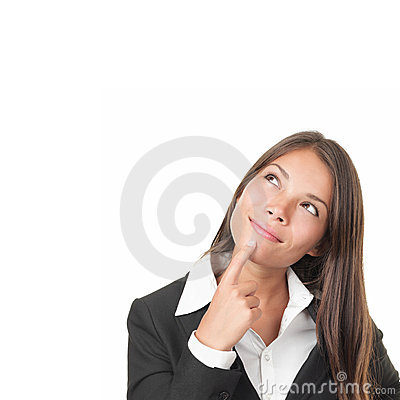 Free Woman Thinking Stock Image - 17015711