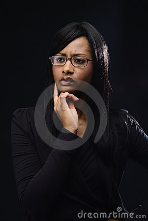 Free Woman Thinking Stock Photography - 2794332