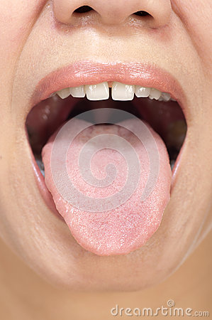 Woman Tongue