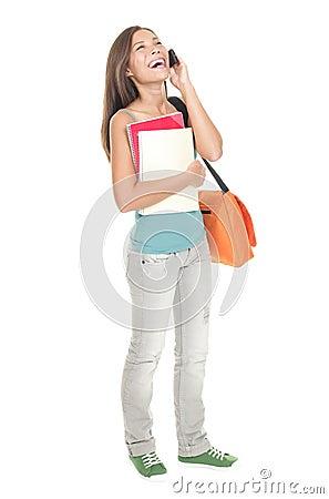 Woman university student